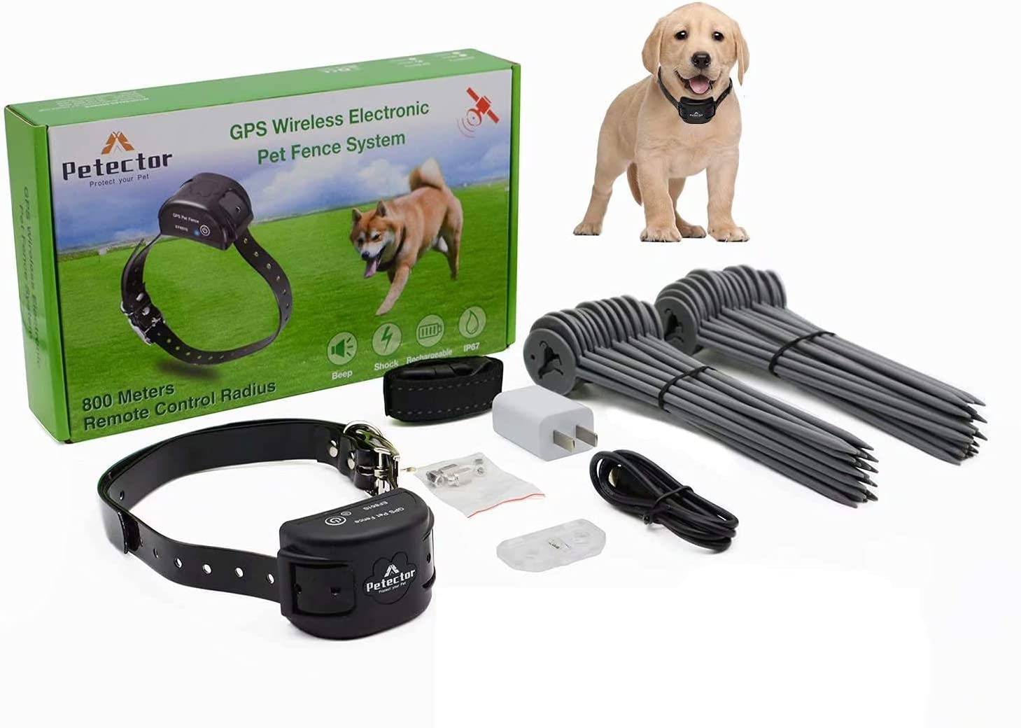 GPS Wireless Max 79% OFF Dog Fence System Portland Mall Electric Pet Containment Sy