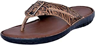 Mardi Gras Kids' Mocca Leather Outdoor Sandals