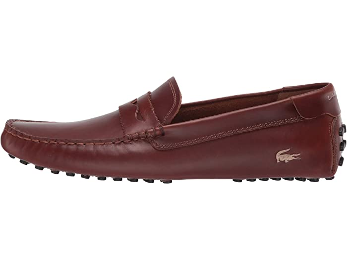 Lacoste Concours Nautic 120 U Tan/gold Loafers