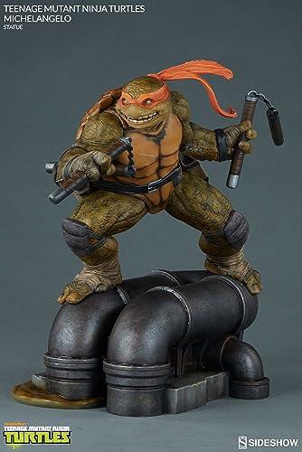 para barato Sideshow SS200465 - Estatua de de de Michelangelo Coleccionable, Diseño de Tortuga Ninja  100% autentico