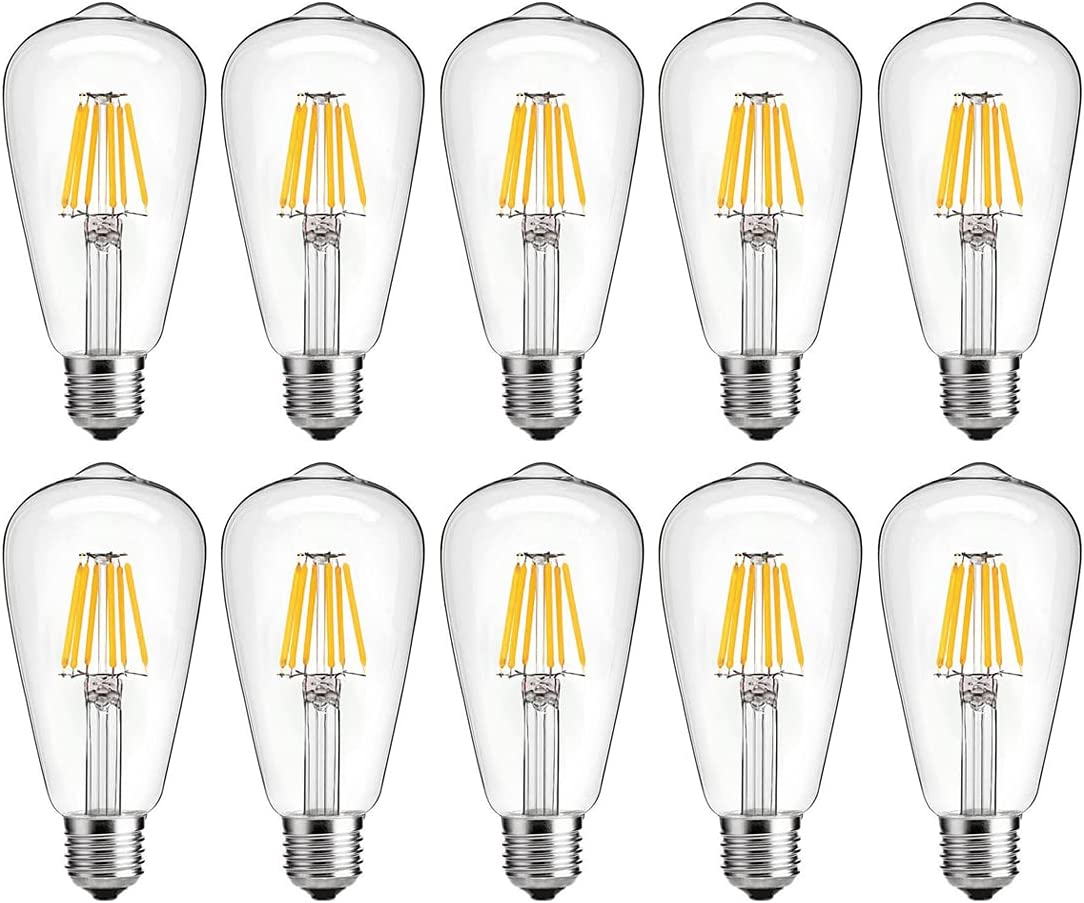 Dimmable led 67% OFF of fixed price Light Bulb 6w 60 LED Watt Incandescen New products, world's highest quality popular! Edison