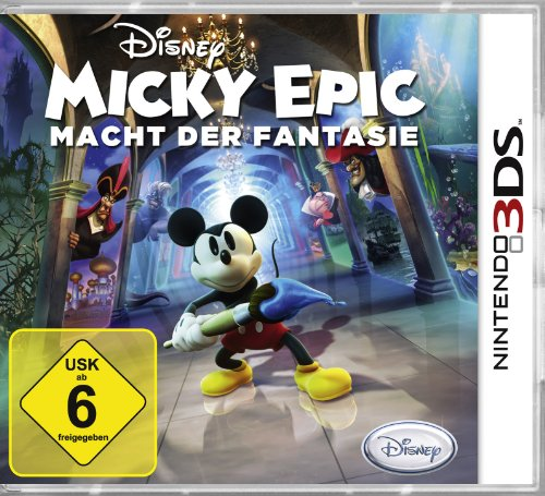 Disney Micky Epic - Macht der Fantasie [Software Pyramide] - [Nintendo 3DS]