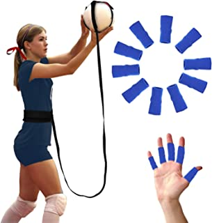 Tushemall Volleyball Training Equipment Aid Perfect Volleyball Set Solo Practice Serving and Spike Trainer for Beginners &...
