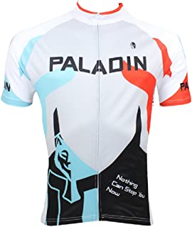 Hillento Men Cycling Quick-dry Biking Short Sleeve Jersey