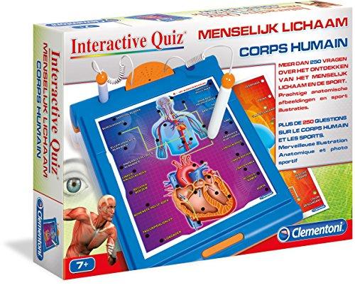 Clementoni - 0619206 - Jeu de Questions Réponses - Quiz Interactif Corps