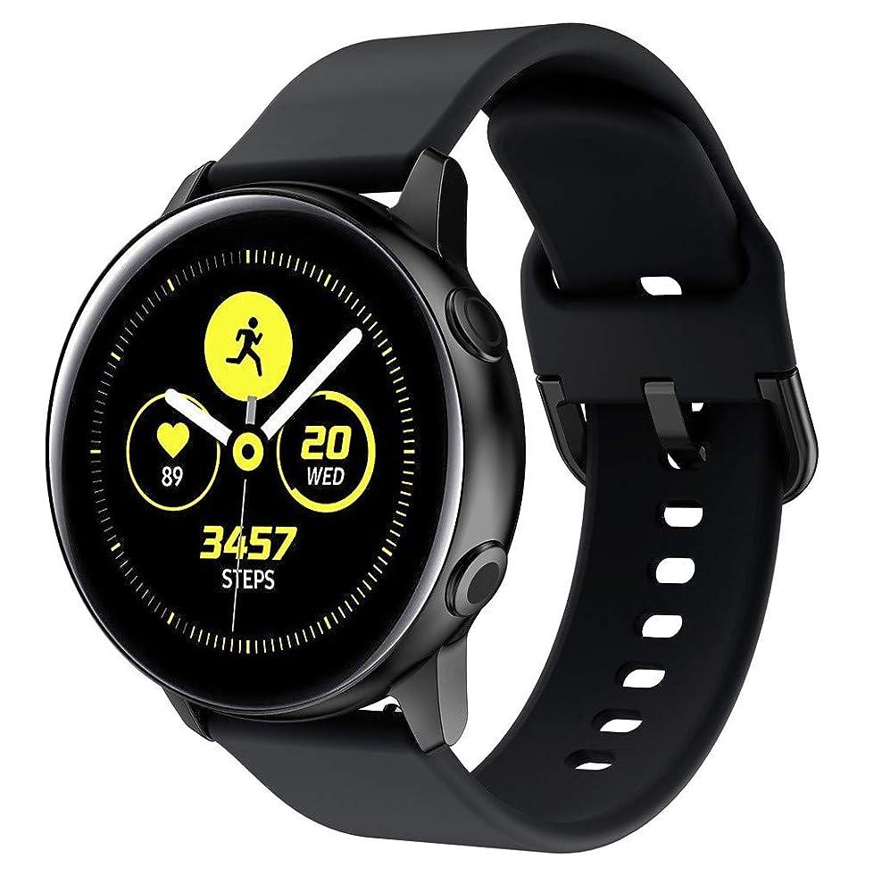 スパイエスカレーター伝記入学祝い !!! for Samsung Galaxy Watch Active -シリコーン交換腕時計交換バンドソフトスポーツリストウォッチバンド腕時計アクセサリー