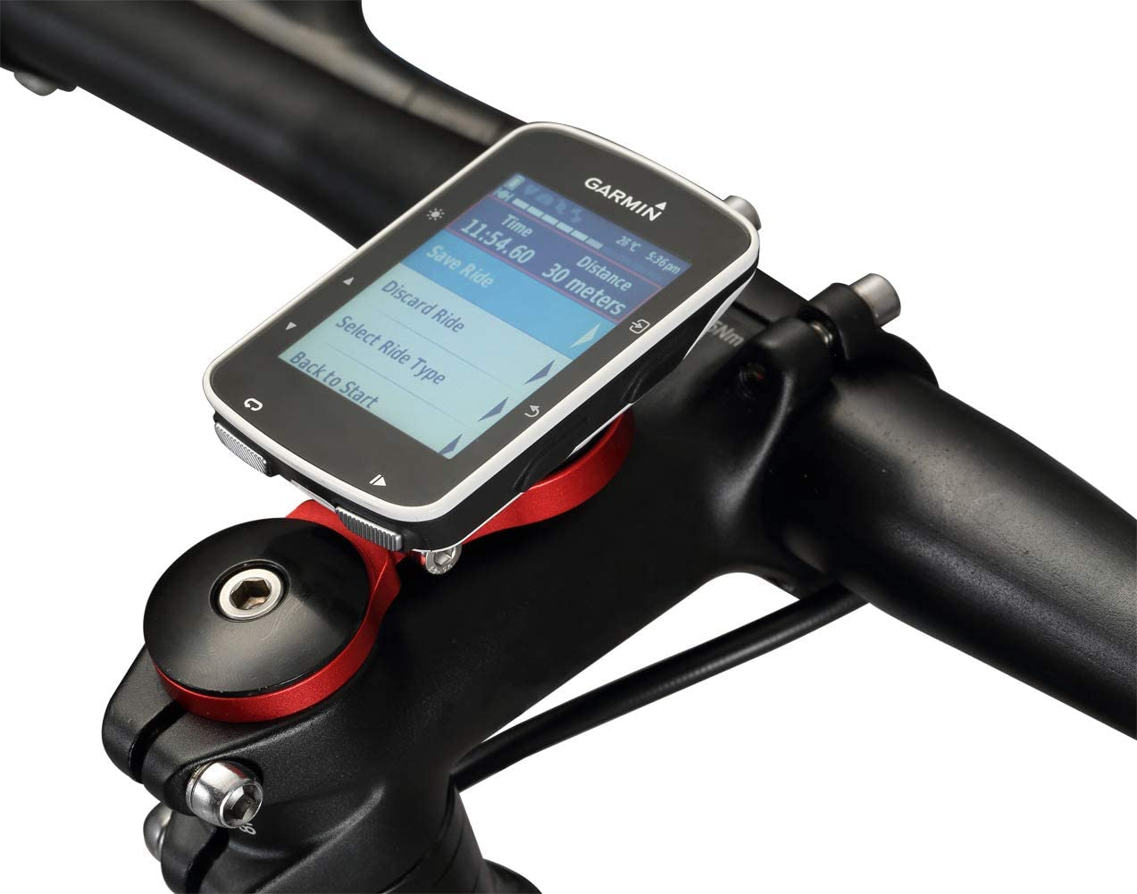 Dymoece Adjustable Bicycle Stem Computer Mount for Garmin Edge 25 130 200 500 510 520 800 810 820 1000 1030