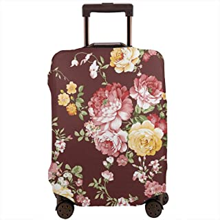 Travel Suitcase Protector,Portrait of African Woman in Ethnic Dress Zulu Elegance Tribal Graphic Print,Suitcase Cover Washable Luggage Cover S