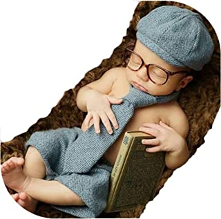 Baby Photography Props Boy Girl Blanket Stretch Wrap Swaddle for Photo Shoot Gentleman Hats Blanket Newborn Photography