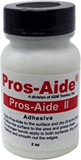 Pros-Aide II Adhesive For Professional Medical Prosthetic and Special Effects Makeup The Sequel 2 oz