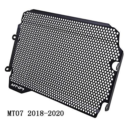 MT07 2018 2019 2020 Motorrad Aluminiumlegierung Kühlerabdeckung Für Yamaha MT-07 MT07 MT 07 2018 2019 2020-Schwarz