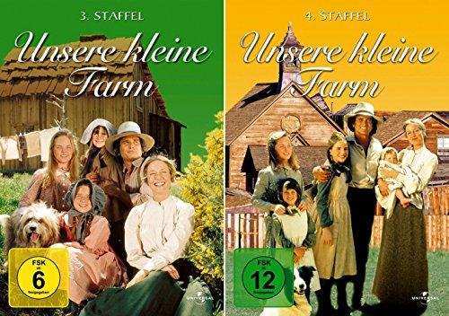 Unsere kleine Farm - Die komplette 3. + 4. Staffel (12-Disc / 2-Boxen)