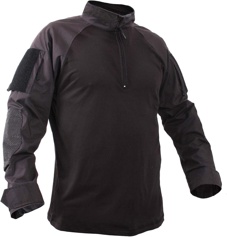 Rothco 1//4 Zip Military Fire Retardant NYCO Combat Shirt