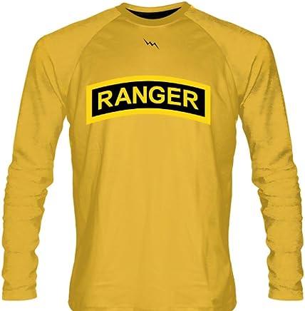 ecbe576a1aa LightningWear Gold Army Ranger Long Sleeve Shirts - Long Sleeve Shooter  Shirts