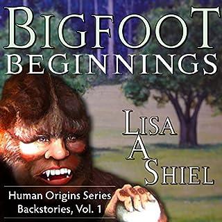 Bigfoot Beginnings audiobook cover art