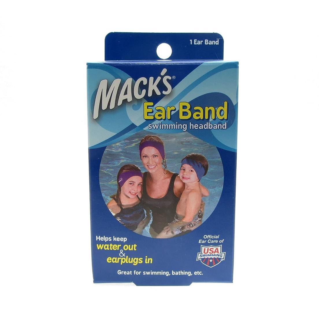 卑しい宿泊施設温室Macks Ear Band Swimming Neoprene [並行輸入品]