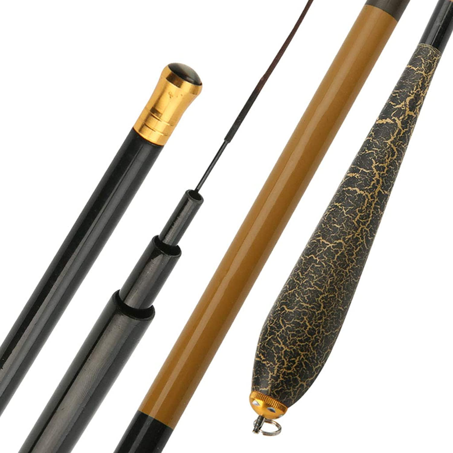 Fishing Rod Imported Carbon Fiber 19 Adjustable Ultra Light and Super Hard 1 to 3 Meters Long Portable Retractable Fishing Rod