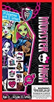 Paper Magic 34CT Deluxe - Tattoos Monster High Kids Classroom Valentine Exchange Cards by Paper Magic