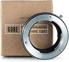 Gobe Lens Mount Adapter  Compatible with Minolta Rokkor  SR MD MC  Lens and Leica Camera Body