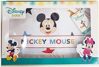 Compose' Mickey Mouse de algodón sábana bajera y funda de almohada para cuna/cochecito de casa para bebé (Art. EC 0211). cielo