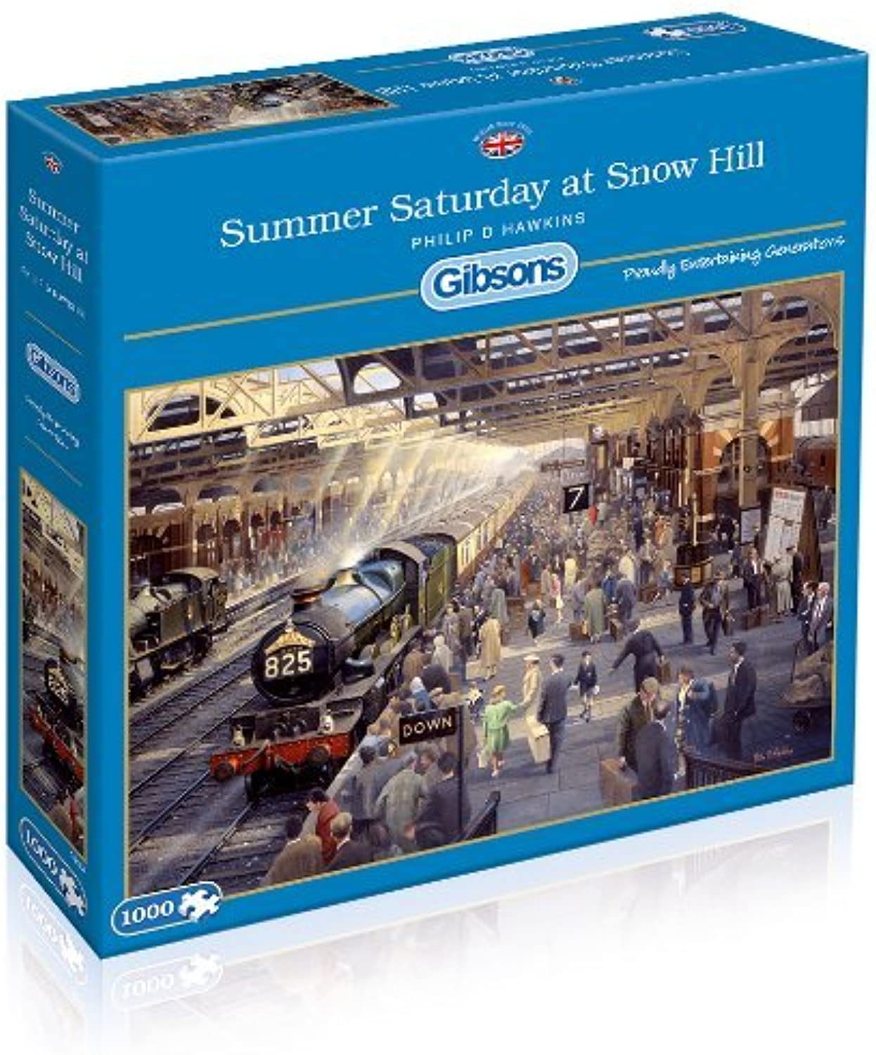 Gibsons Summer Saturday at Snow Hill Jigsaw Puzzle (1000-Piece) by Gibsons