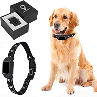 DCUKPST Traceur GPS Chien, Mini Collier GPS pour Chien Animaux Real Time Activity Moniteur Tracker, Anti Perdu Collier GPS...