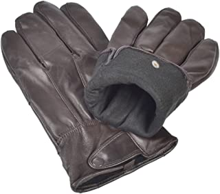 Best brown leather driving gloves mens Reviews