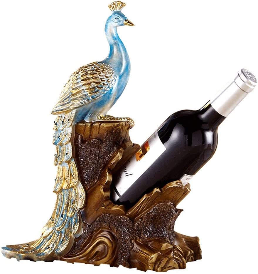 Aohi WXQ-XQ QuRong Wine Cheap mail order sales Rack Decorated trust Dining Peacock Table