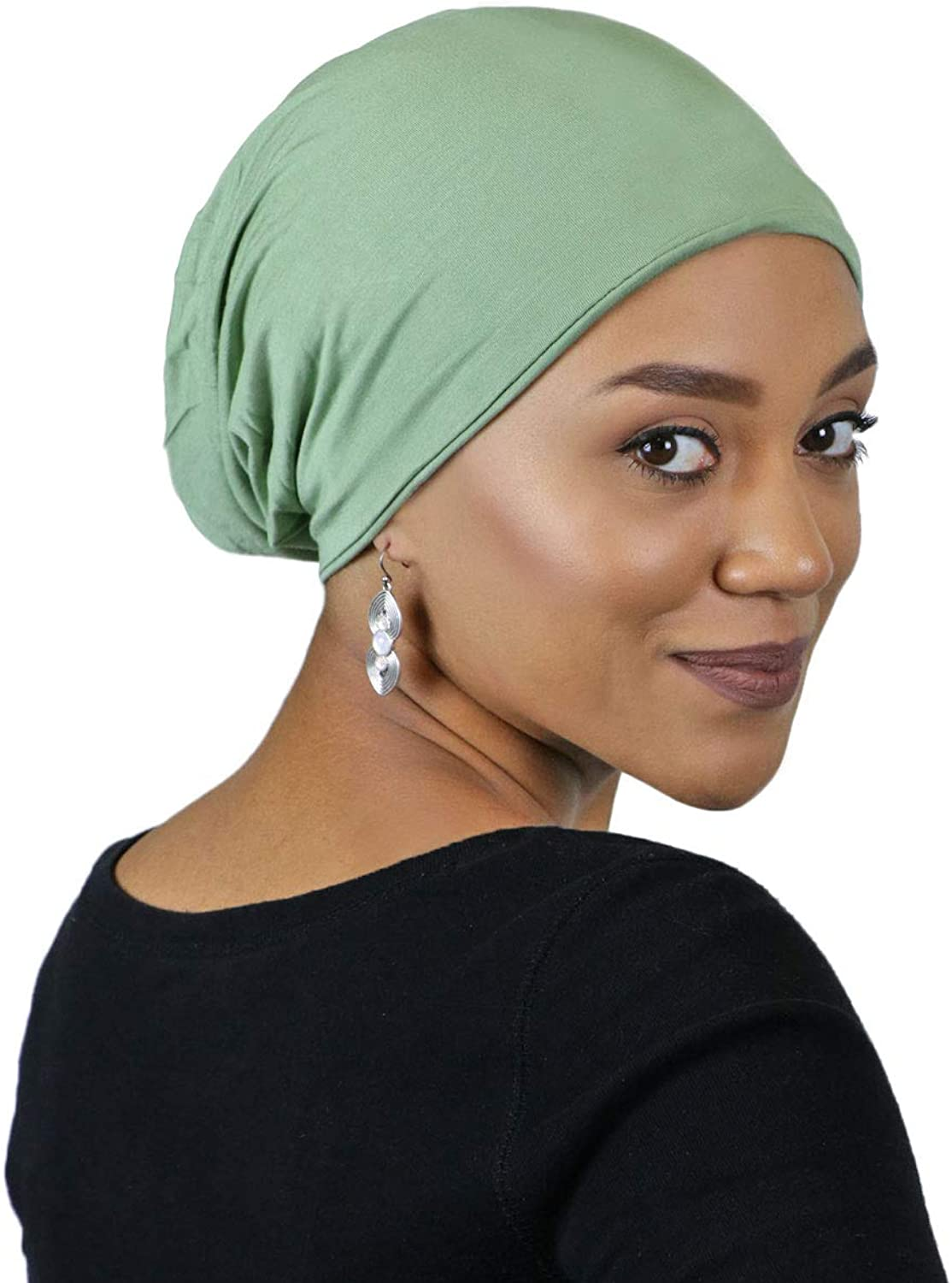 Chemo Cap Women Bamboo Slouchy Hat Cancer Patients Headwear