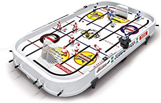 FENGTING Tabletop Game for Boys Mini Rod Hockey Table Top Accessories Family Play Fun Table Game Set