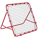 COSTWAY Football Rebounder, Football Training Net, Adjustable Soccer, Other balls Target Goal