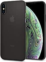 Spigen Air Skin Designed for Apple iPhone Xs Case (2018) / Designed for Apple iPhone X Case (2017) - Black