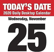 todays calendar date