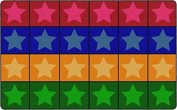 Childcraft Everyone S A Star Carpet 8 X 12 Feet Rectangle