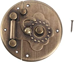 Cabilock Antieke Retro Vintage Klink Borst Lock Voor Houten Sieraden Doos Kast Meubels Lade Dressoir Case Deurslot