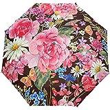 Weinlese-Blumenblumen-Frühlings-Auto-Öffnungs-nahes Sun Rain Umbrella
