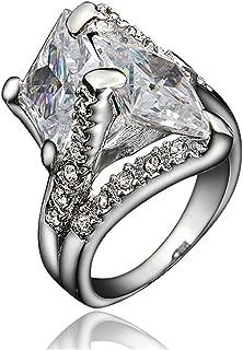 unique cz engagement rings