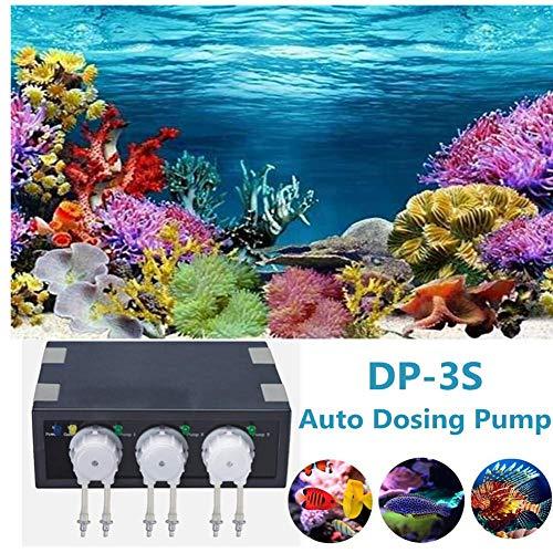 Laecabv Auto Dosierpumpe Aquarium (DP-2 + DP-3S) Auto Dosing Pump Aquarium Pumpen Automatische Dosierpumpe (DP-3S)