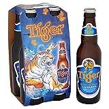Tiger Lager Beer, 4 x