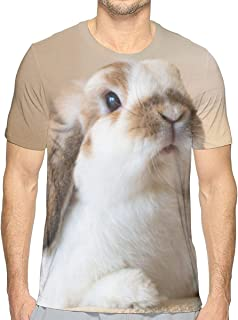 北欧 カラフル Tシャツ メンズ クルーネック 半袖シャツ 男子トップス 面白い柄 吸汗速乾 日常カジュア着 個性