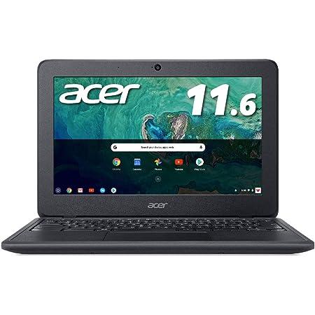 Acer ノートパソコン Chromebook 11.6型WXGA液晶 N3350 オブシディアンブラック