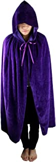 kids purple hooded cloak