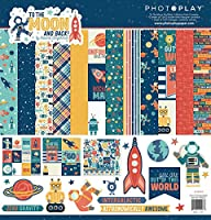 """PhotoPlay Collection Pack 12""""X12""""-To The Moon And Back"""