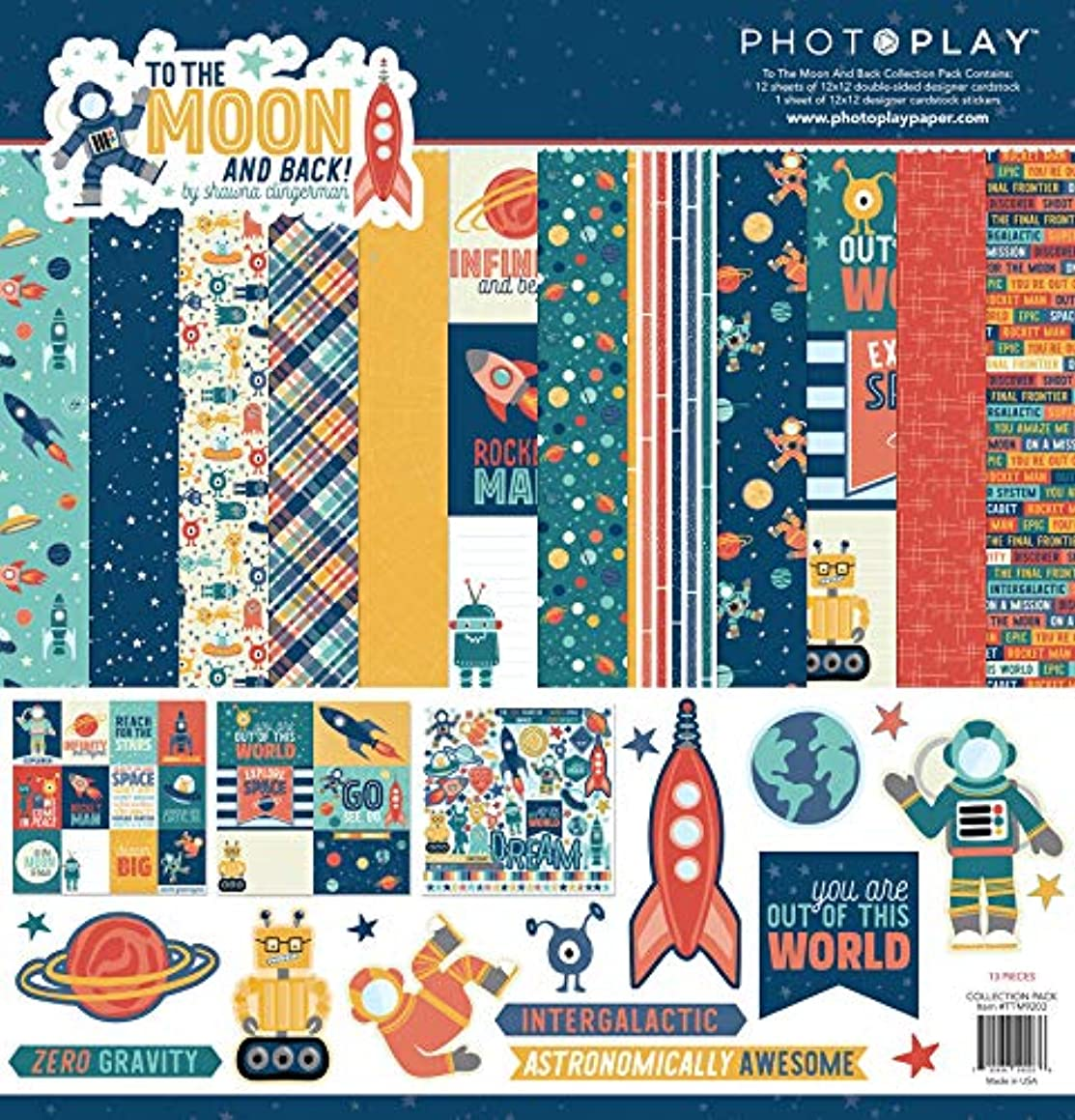 Photoplay Paper TTM9203 PhotoPlay Collection Pack 12