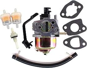 USPEEDA Carburetor for Harbor Chicago Electric Predator 3050 3500 Watts 65414 196cc Carb Fuel Filter