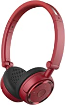 Edifier W675BT Wireless Headphones - Bluetooth v4.1 On-Ear Earphones, Foldable with NFC Quick Connect - Red