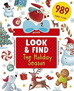 The Holiday Season: 989 Things to Find (Look & Find)