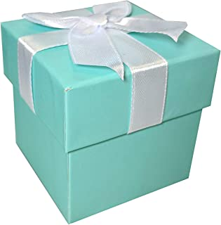 Robbins Egg Blue Jewelry Gift Favor Boxes - 12 Boxes
