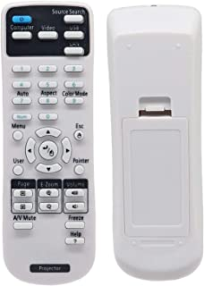 2181788 Universal Projector Remote Control for Epson Projectors BrightLink 575Wi 585Wi 595Wi435Wi 475Wi 480i 485Wi PowerL...