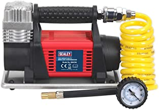 150PSI Car Bike Tyre Ball Inflator Pump Air compressor Twin Cylinder With Fuse